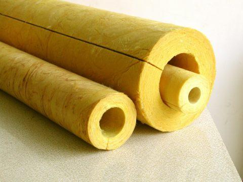 Bông thủy tinh chống cháy dạng ống dạng ống Kiến Nam