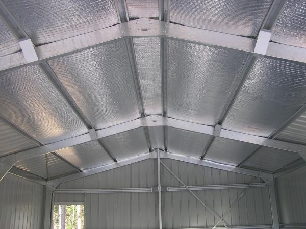 ứng dụng tấm cách nhiệt chống nóng để thi công cách nhiệt mái nhà xưởng