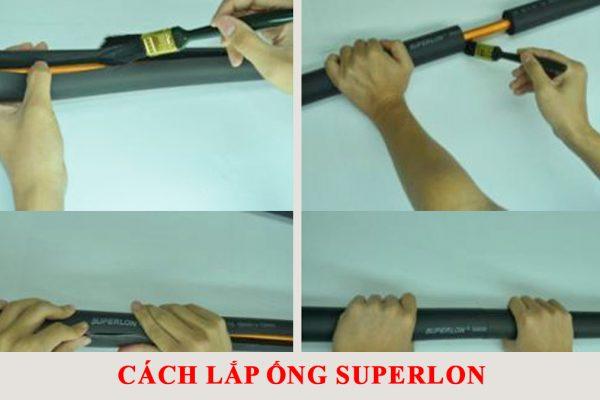 Hướng dẫn lắp đặt ống superlon cách nhiệt