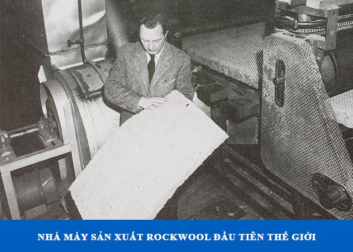 Nhà máy đầu tiên trên thế giới sản xuất bông khoáng thành công năm 1992