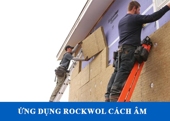 Ứng dụng Bông khoáng cách âm rockwool cho các tòa nhà